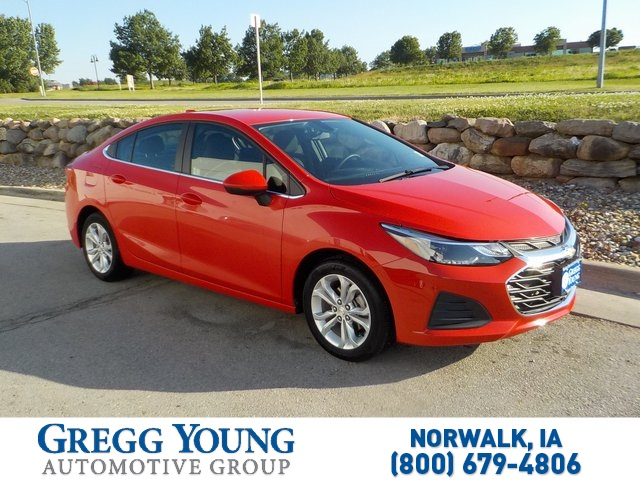 Certified Pre-Owned 2019 Chevrolet Cruze LT