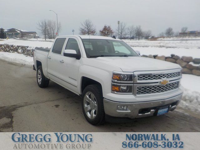 Pre Owned 2015 Chevrolet Silverado 1500 Ltz 4d Crew Cab In Indianola