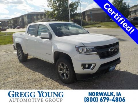 Certified Pre-Owned 2018 Chevrolet Colorado Z71
