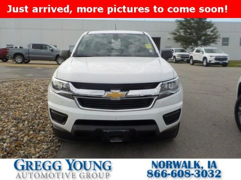 Certified Pre-Owned 2019 Chevrolet Colorado Work Truck