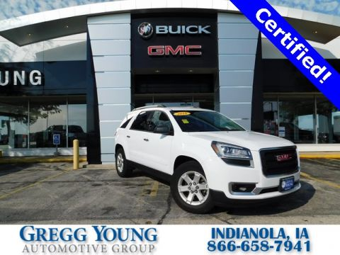 Certified Pre-Owned 2016 GMC Acadia SLE-2